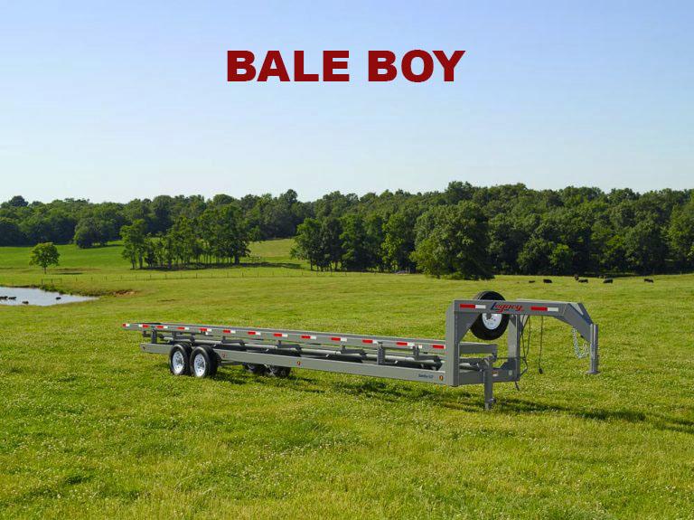 Inline Bale Trailer