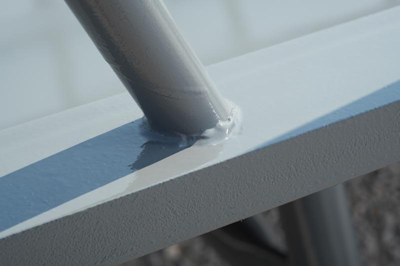 round bale feeder pipe slats